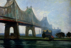 Edward Hopper - Queensborough-Bridge