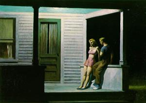 Edward Hopper - 夏天 晚上
