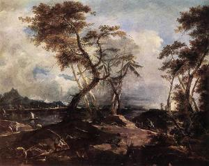 Francesco Lazzaro Guardi - 风景