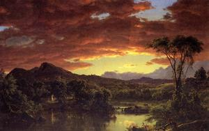 Frederic Edwin Church - 一个 国家 首页