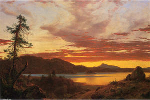 Frederic Edwin Church -  日落