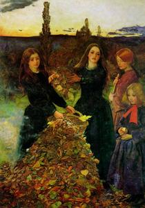 John Everett Millais - 叶秋