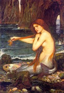 John William Waterhouse - 一个marmaid