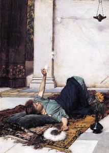John William Waterhouse - 杜远Niente 1