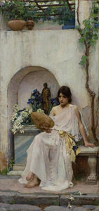 John William Waterhouse - 植物群