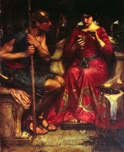 John William Waterhouse - 贾森 和  美狄亚