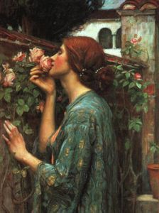 John William Waterhouse - 我的 甜  上升