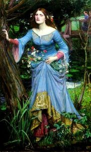 John William Waterhouse - 奥菲利亚