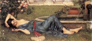 John William Waterhouse - 甜 夏天