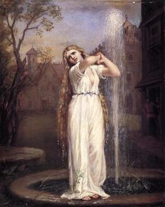 John William Waterhouse - 温蒂妮