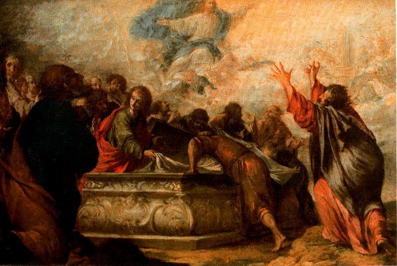 la耶稣升天, 油 通过 juan de valdés leal (1622-1690, spain)