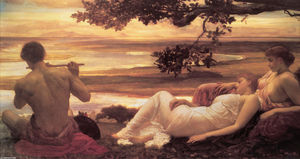 Lord Frederic Leighton - 牧歌