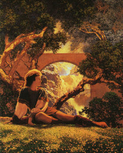 Maxfield Parrish - 武士