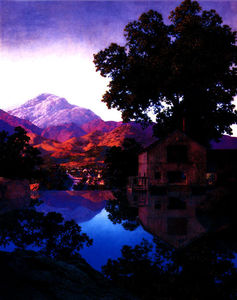 Maxfield Parrish - 该Millpond