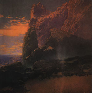 Maxfield Parrish - 风暴