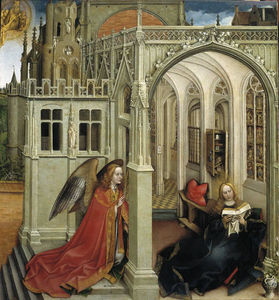 Robert Campin (Master Of Flemalle) - 报喜