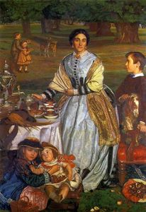 William Holman Hunt -  的 Children's Holiday