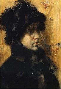 William Merritt Chase - 肖像研究