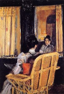 William Merritt Chase - 反映