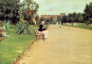 William Merritt Chase - 公园