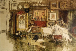 William Merritt Chase - 第十届街工作室 1