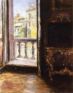 William Merritt Chase - 威尼斯阳台