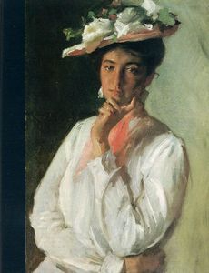 William Merritt Chase - 白衣女子