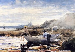 Winslow Homer - 男孩  在 Dory 1