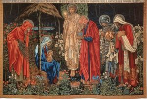 Edward Coley Burne-Jones - 贤士来朝