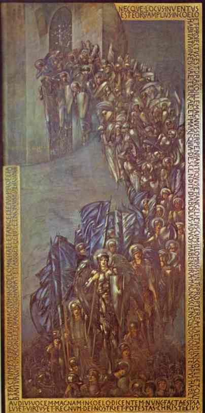 路西法的堕落 通过 Edward Coley Burne-Jones (1833-1898, United Kingdom) | 幀畫冊專輯 | WahooArt.com