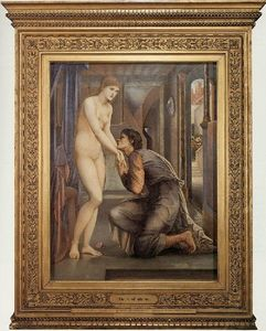 Edward Coley Burne-Jones - 灵魂达到