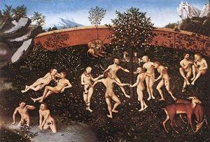 Lucas Cranach The Elder -  的  金 年龄