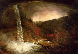 Thomas Cole - Kaaterskill 瀑布