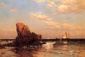 Alfred Thompson Bricher - 在海边