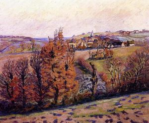 Jean Baptiste Armand Guillaumin - 克罗藏村