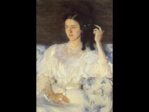 Cecilia Beaux -  女孩与 a  猫