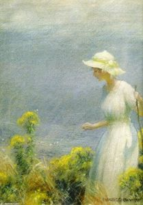 Charles Courtney Curran - 一个 夏天  走路