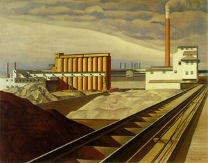Charles Rettew Sheeler Junior - 经典 风景