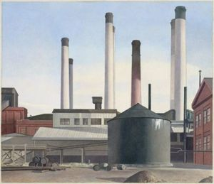 Charles Rettew Sheeler Junior - 遁走曲
