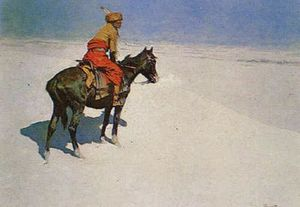 Frederic Remington - 侦察员