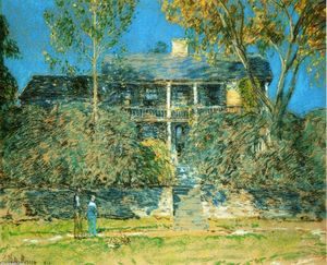 Frederick Childe Hassam - 冬青农场