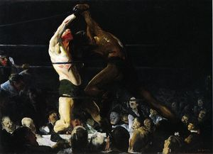 George Wesley Bellows -  既 会员 of  这 俱乐部