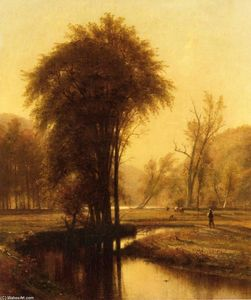 "Thomas Worthington Whittredge - ""小阳春"
