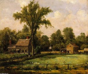 Thomas Worthington Whittredge -  六月 天堂 谷