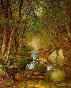 Thomas Worthington Whittredge - 鳟鱼在阿迪朗达克