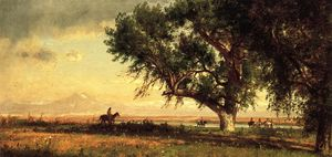 Thomas Worthington Whittredge - 视图 普拉特  河