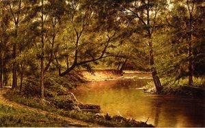 Thomas Worthington Whittredge - 林地内饰