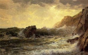 William Trost Richards - 破碎波