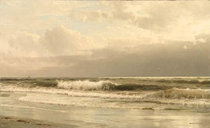 William Trost Richards - 洛克威海滩