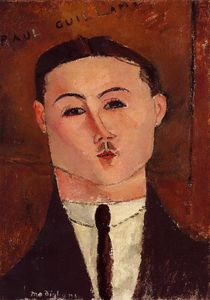 Amedeo Modigliani - 保罗·纪尧姆